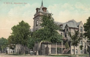 BRANTFORD , Ontario , PU-1908; Y.W.C.A.