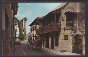 Old Spanish Inn,St Augustine,FL Postcard