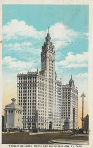 CHICAGO, Illinois; 1900-10s; Wrigley Building, North & South Sections