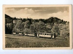 247224 GERMANY Badenweiler TRAIN Vintage photo postcard