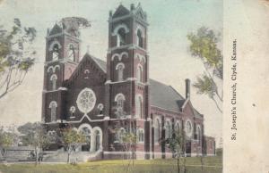 CLYDE , Kansas , 1913 ; St. Joseph's Church