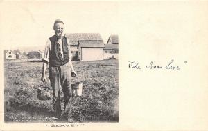 Canaan New Hampshire~Old Bedraggled 'Ole Nas Seve Carries Paint? Buckets 1907
