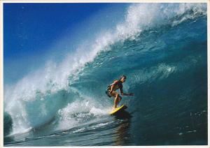 Surfing The Pipeline