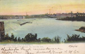 NORRISTOWN, Pennsylvania, PU-1906; View Of The Dam