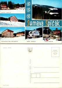 Sumava Spicak, Czechoslovakia Republic, Multi-Views (9326)