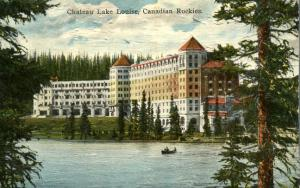 Chateau Lake Louise - Alberta, Canadian Rockies - DB