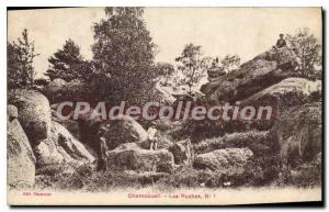 Postcard Old Champcueil Les Roches