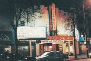 VANCOUVER , B.C. , 1950-70s ; Kitsilano , The Hollywood Theatre