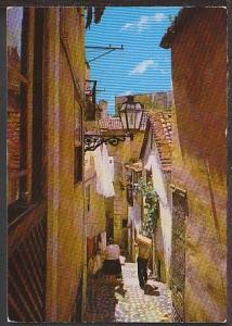 Typical Street of Alfama Lisboa Portugal Postcard BIN