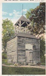 LEXINGTON , Mass. , 00-10s ; The Old Belfry
