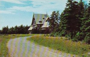 Canada Chateau Menier Port Menier Anticosti Island Quebec