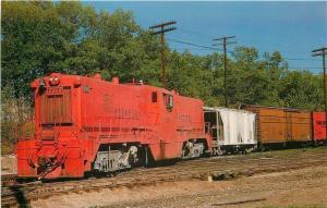 Griffith Indiana~Elgin Joliet & Eastern Railway~Baldwin #920 1971 Postcard