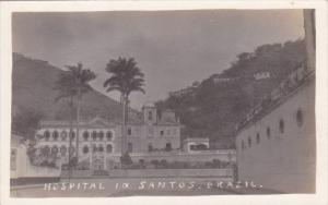 Brazil Santos The Hospital Real Photo