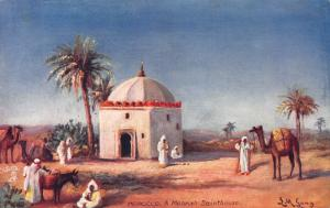 A Moorish Saint-House, Morocco, Early Tuck's Postcard, Unused