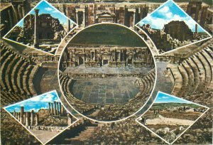 Souvenir Postcard Jordan Jerash different aspects