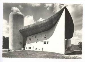 RP  RONCHAMP (Hte-Saone), Chapelle de Notre-Dame du Haut, France, 40-60s