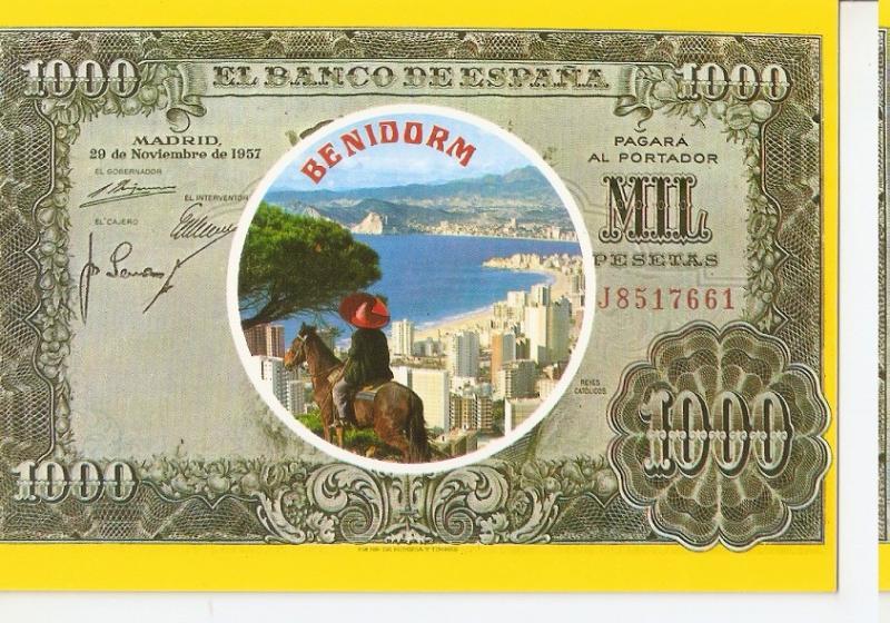 Postal 045845 : Benidorm (España)