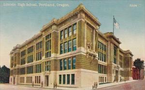 Oregon Portland Lincoln High School