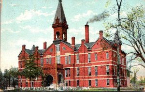 Iowa Des Moines Drake University 1907