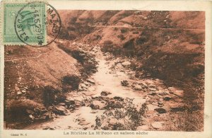 Belgian Congo river M`Pozo dry spell 1929 TCV stamp