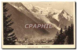 Old Postcard Chamonix General view