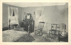 Farmington Michigan~Botsford Tavern~Guest Room~Rocking Chair~1930s Albertype