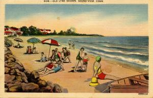 CT - Old Lyme. The Shore, Soundview