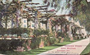 California Pasadena Celebrated Pergola Hotel Maryland