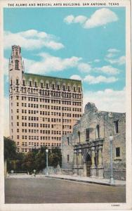 Texas San Antonio The Alamo and Medical Arts Building