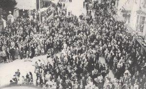 Armistice Day Bognor Regis Winston Church Speech War Welsh Postcard