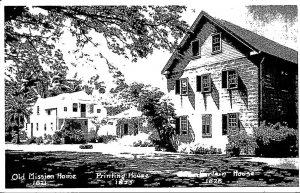 Hawaii Honolulu Old Mission House Printing Home & Chamberlain House