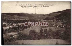 Old Postcard La Vallee Thur Busseren Wesserling Saint Amarin The Rossberg