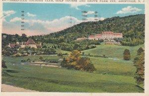 ASHEVILLE , North Carolina , 1933 ; Golf Course