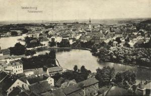 russia germany, INSTERBURG CHERNYAKHOVSK, General View (1915) East Prussia
