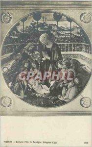Old Postcard Firenze Galleria Pitti S Famiglia Filippino Lippi