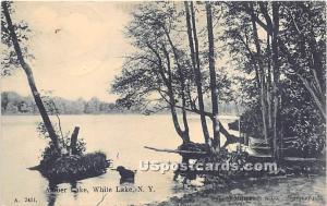 Amber Lake White Lake NY 1907