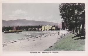 VANCOUVER, British Columbia, Canada, 1924-1953; English Bay