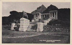 The Cecil Rhodes Memorial, Capetown, South Africa, 00-10s