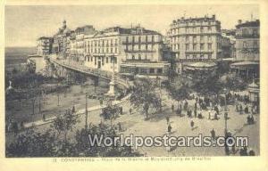 Constantine Algeria, Africa, Place de la Breche et Boulevard Joly de Bresillo...
