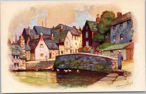 Anne Croft - The Mill Pond - Swanage - Vivian Mansell Series 2132