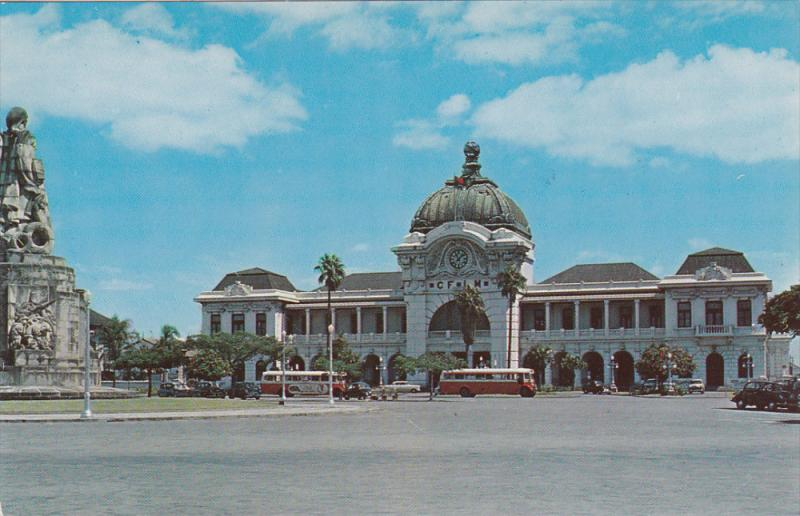 LOURENCO MARQUES, Mac Mahon´s Square and Railway Station, Mozambique, 40-60s
