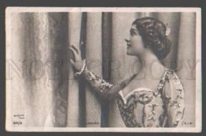 098960 Lina CAVALIERI Famous Italian OPERA Star vintage PHOTO