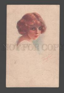 093563 Portrait of Lovely Young Girl by TAYLOR Vintage NPG PC