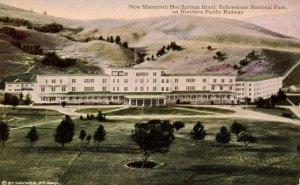 WY - Yellowstone Nat'l Park. New Mammoth Hot Springs Hotel    (Haynes)