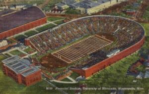Memorial Stadium, University of Minnesota Minneapolis MN Unused