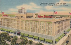 Florida Jacksonville Cohen Brothers Department Store Curteich sk6071