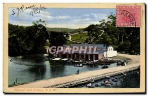 Old Postcard Postcards National Park Sydney NSW Australia