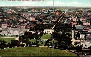 Washington D C View From Washington Monument