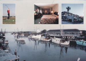 MT. PLEASANT, South Carolina , 60-80s; Shem Creek Inn, Golfer, Room, Marina