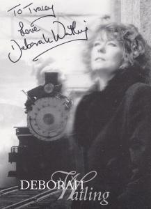 Deborah Watling Hand Signed Photo